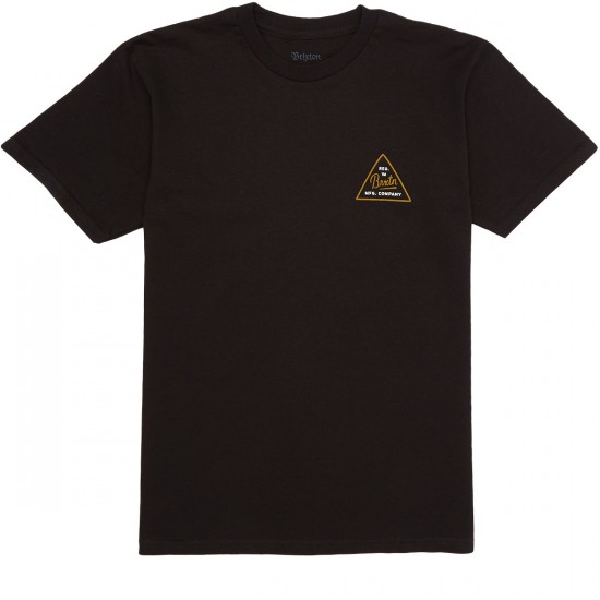 Brixton Cue T-Shirt - Black
