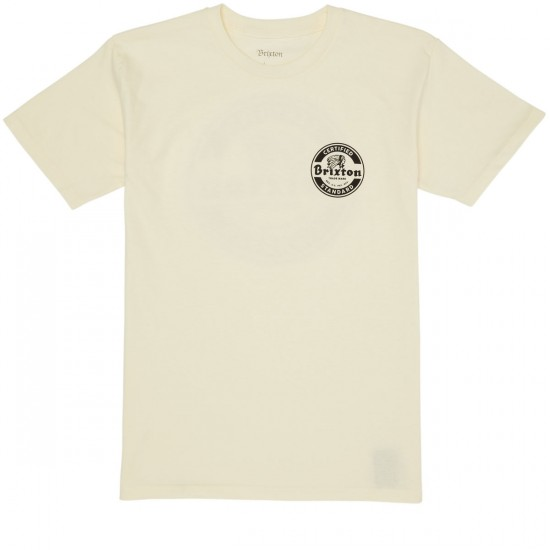 Brixton Soto II T-Shirt - Off White