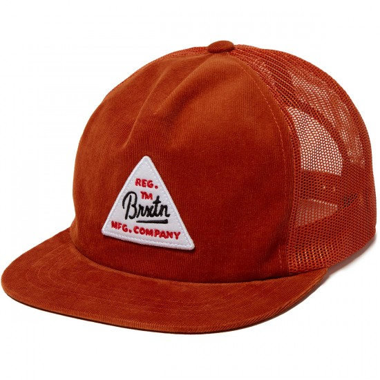 Brixton Cue Mesh Hat - Copper
