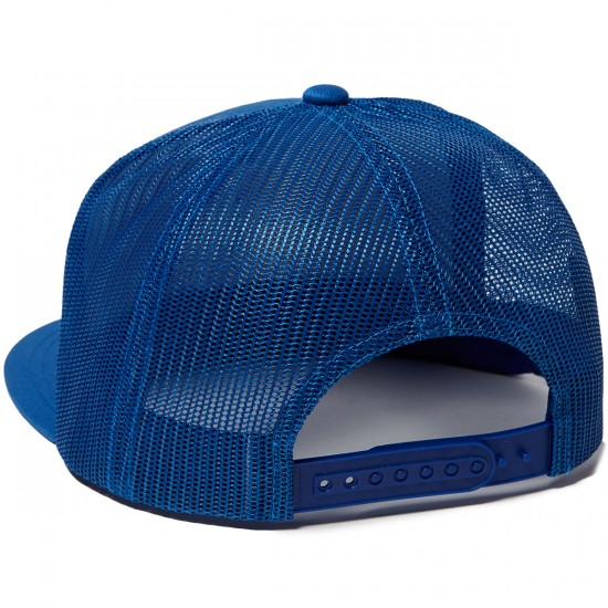 Brixton Wheeler Mesh Hat - Blue/White