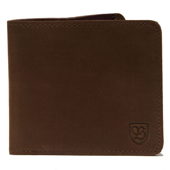 Brixton Global Wallet - Brown