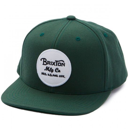 Brixton Wheeler Snapback Hat - Chive