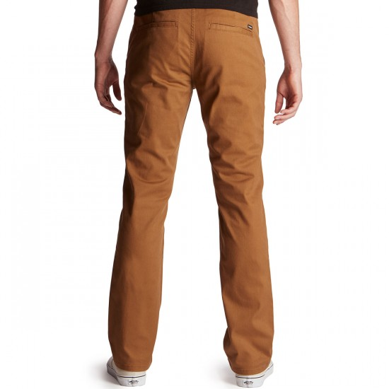 Brixton Reserve Chino Pants - Bark