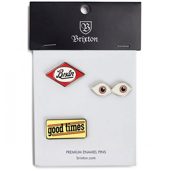 Brixton Times Pack of Pin - Multi