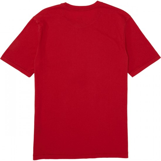 Brixton X Coors Colorado Premium T-Shirt - Red