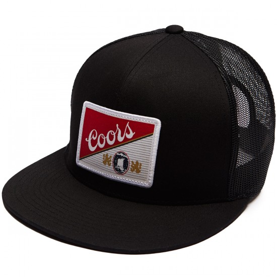Brixton X Coors Heritage Mesh Hat - Black