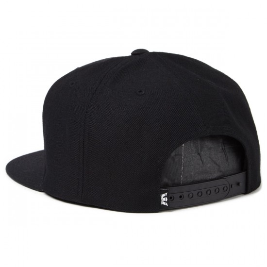 Supra Above Snap Hat - Black/Charcoal