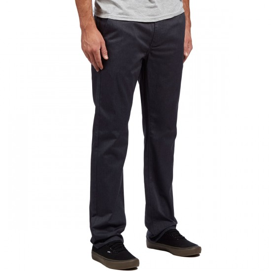 KR3W Klassic Chino Pants - Heather Grey - 32 - 32