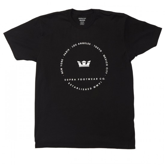 Supra Sphere T-Shirt - Black