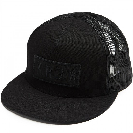 KR3W Locker Patch Trucker Hat - Black