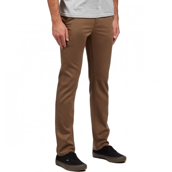KR3W K Slim Chino Pants - Tobacco - 30 - 32