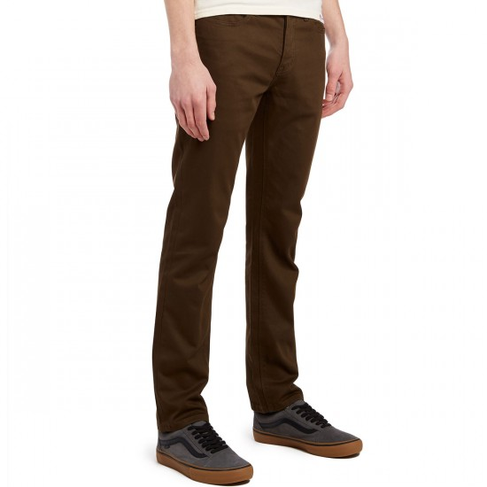 KR3W K Slim 5 Pocket Pants - Dark Drab - 30 - 32
