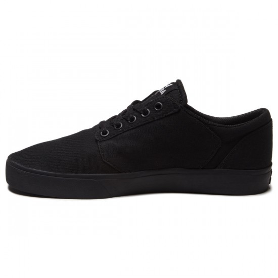 Supra Yorek Shoes - Black/Black - 8.0
