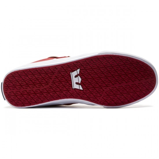Supra Stacks Vulc II Shoes - Red/Navy/White - 8.0