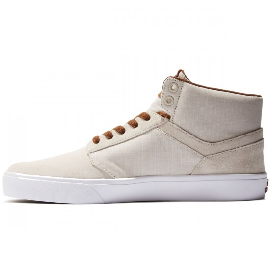 Supra Yorek High Shoes - Off White/White - 8.0