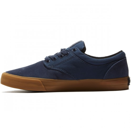 Supra Chino Shoes - Navy/Gun - 8.0