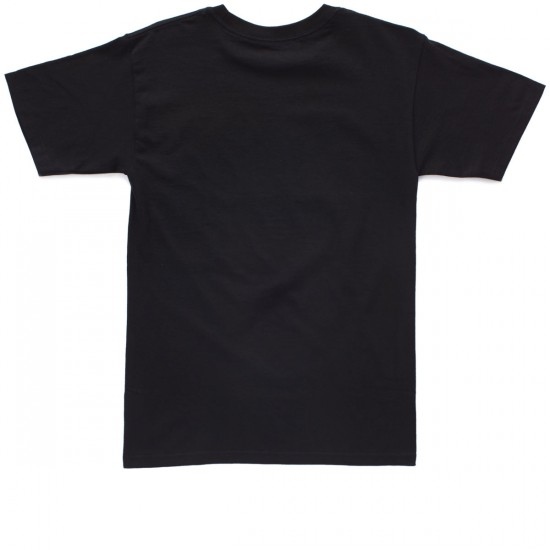 KR3W Rosa Locker T-Shirt - Black