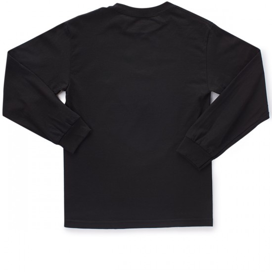 Supra Star Seal Long Sleeve T-Shirt - Black