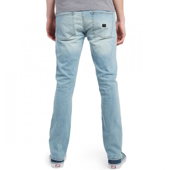 KR3W K Slim Jeans - Double Stoned