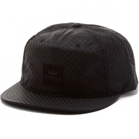 Supra Legacy Slider Hat - Black