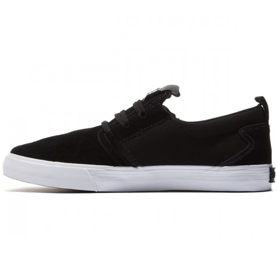 Supra Flow Shoes - Black/White - 8.0