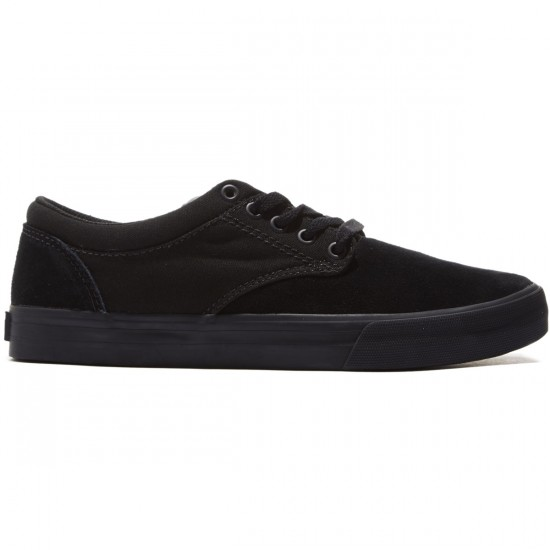 Supra Chino Shoes - Black/Black/Black - 8.0