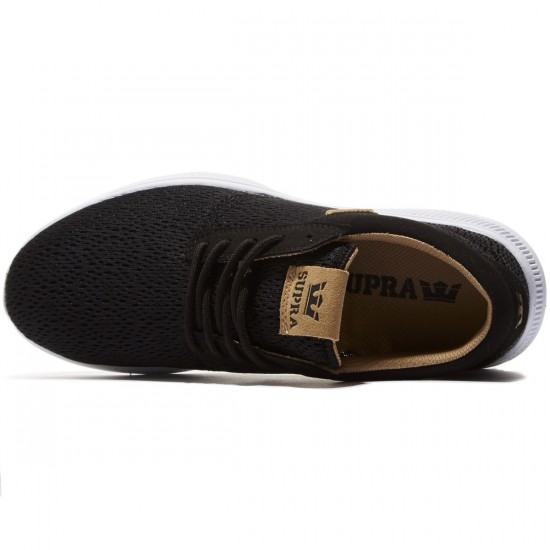 Supra Hammer Run Shoes - Black/Tan/White - 8.0