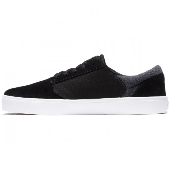 Supra Yorek Shoes - Black/White - 8.0