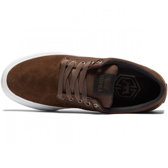 Supra Chino Shoes - Brown/White - 8.0