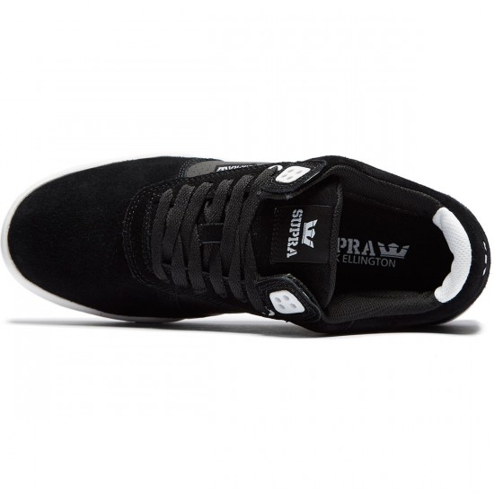 Supra Ellington Shoes - Black/White - 8.0