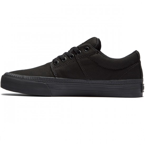 Supra Stacks Vulc II HF Shoes - Black/Black - 8.0