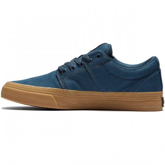 Supra Stacks Vulc II HF Shoes - Navy/Gum - 8.0