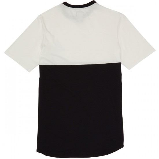 Supra Block Crew T-Shirt - White/Black