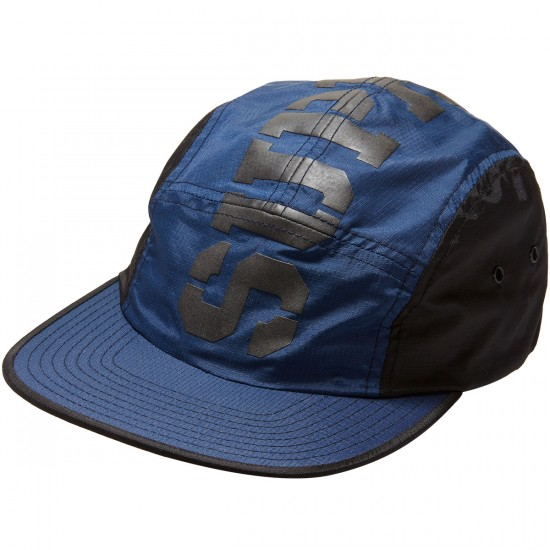 Supra Major 5 Panel Hat - Blue/Black