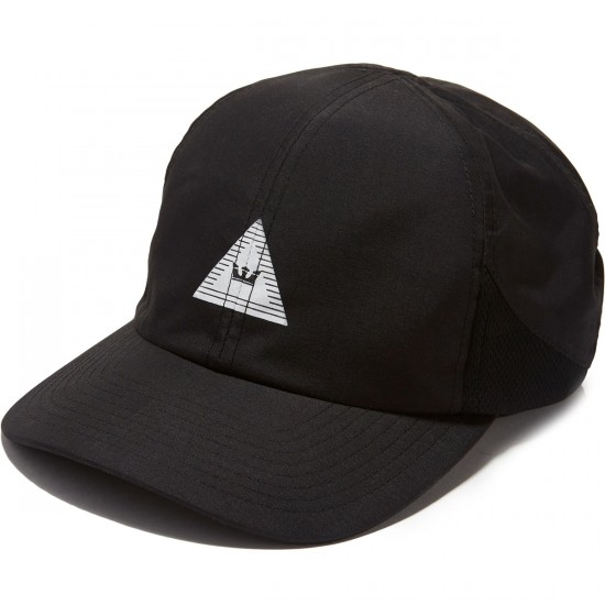 Supra Triangle Crown Hat - Black