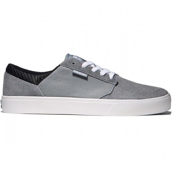 Supra Yorek Shoes - Grey/White - 8.0
