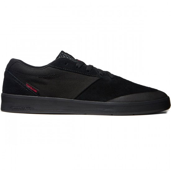 Supra Shifter Shoes - Black Canvas - 8.0
