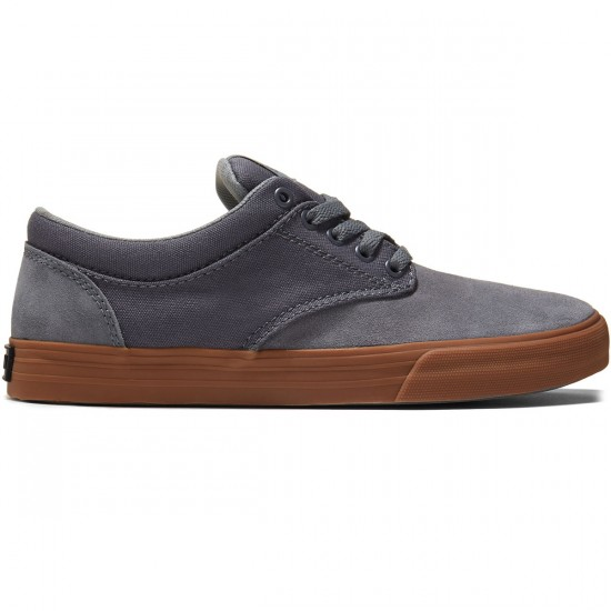 Supra Chino Shoes - Grey/Gum - 8.0