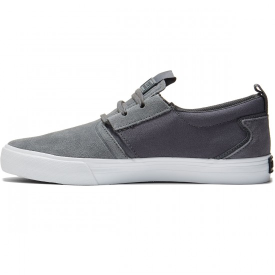 Supra Flow Shoes - Grey/White - 8.0