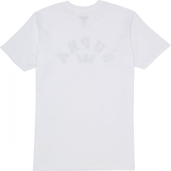Supra Arched T-Shirt - White