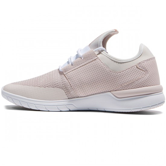 Supra Flow Run Shoes - Light Pink/White - 8.0