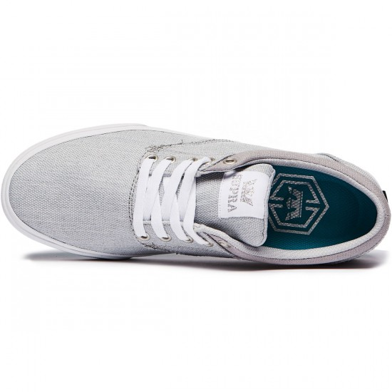 Supra Chino Shoes - Light Grey/White - 8.0