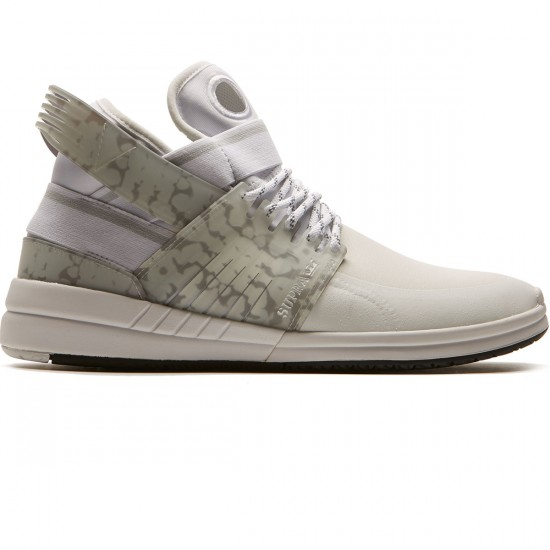 Supra Skytop V Shoes - White/White