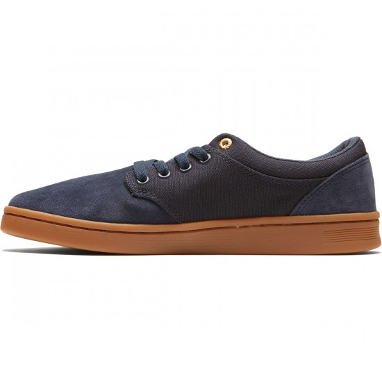 Supra Chino Court Shoes - Midnight/Gum - 8.0