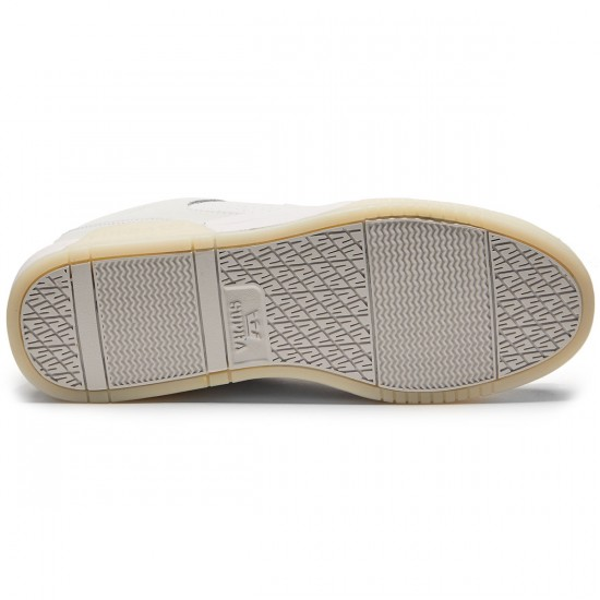 Supra Ellington Shoes - White/White - 8.0