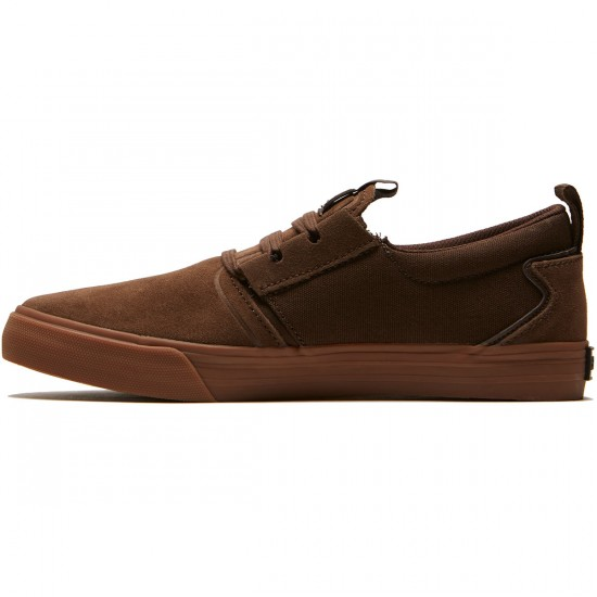 Supra Flow Shoes - Demitasse/Gum - 8.0