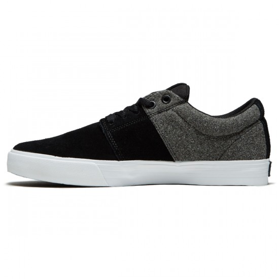 Supra Stacks Vulc II Shoes - Black/White/Black - 8.5
