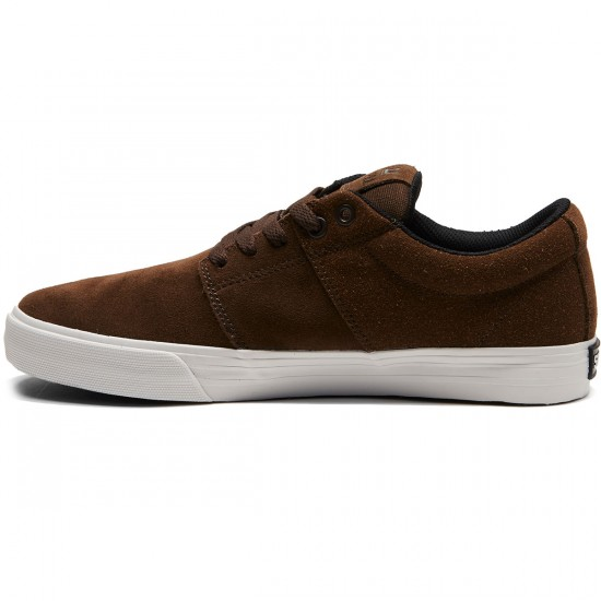 Supra Stacks Vulc II Shoes - Demitasse/White - 8.0