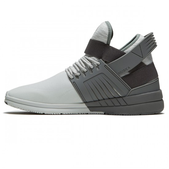 Supra Skytop V Shoes - Grey/Light Grey - 8.5