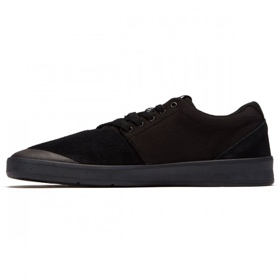 Supra Shifter Shoes - Black/Black - 8.5